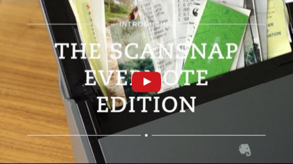 ScanSnap Evernote Edition movie